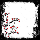 grunge βαλεντίνοι απεικόνιση αποθεμάτων