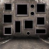 grunge βιομηχανικό εσωτερικό π& Στοκ φωτογραφία με δικαίωμα ελεύθερης χρήσης