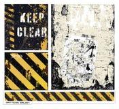 grunge διανύσματα Στοκ φωτογραφίες με δικαίωμα ελεύθερης χρήσης