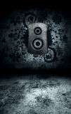 grunge εσωτερικό δωμάτιο Στοκ Φωτογραφίες