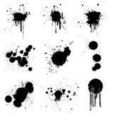 grunge θέστε διανυσματικός Στοκ φωτογραφία με δικαίωμα ελεύθερης χρήσης