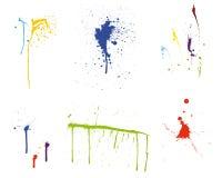 grunge καθορισμένο διάνυσμα πρ& Στοκ εικόνες με δικαίωμα ελεύθερης χρήσης