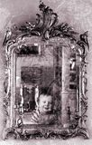 grunge καθρέφτης Στοκ Εικόνες