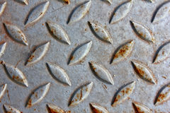Grunge και βρώμικο πιάτο πατωμάτων σιδήρου Στοκ εικόνα με δικαίωμα ελεύθερης χρήσης
