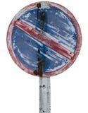 Grunge κανένα σημάδι χώρων στάθμευσης Στοκ Φωτογραφία
