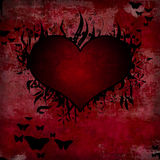 grunge καρδιά στοκ φωτογραφίες με δικαίωμα ελεύθερης χρήσης