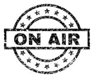 Grunge κατασκευασμένο στη σφραγίδα γραμματοσήμων AIR ελεύθερη απεικόνιση δικαιώματος