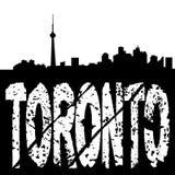 grunge κείμενο Τορόντο οριζόντων ελεύθερη απεικόνιση δικαιώματος