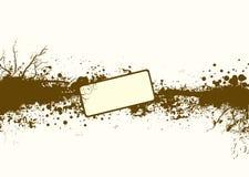 grunge λουρίδα απεικόνιση αποθεμάτων