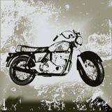 grunge μοτοσικλέτα ελεύθερη απεικόνιση δικαιώματος