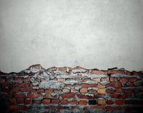 grunge νέος παλαιός τοίχος Στοκ φωτογραφίες με δικαίωμα ελεύθερης χρήσης