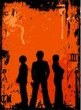 grunge νεολαία διανυσματική απεικόνιση