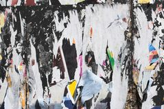 grunge ξεφλουδισμένη αφίσα στοκ εικόνα