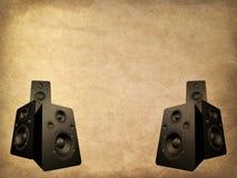 grunge ομιλητές Ελεύθερη απεικόνιση δικαιώματος
