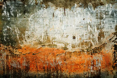 grunge παλαιός τοίχος σύσταση&sig Στοκ Εικόνες