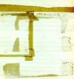 grunge παλαιό έγγραφο Στοκ φωτογραφία με δικαίωμα ελεύθερης χρήσης