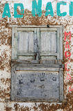 grunge παλαιό παράθυρο στοκ φωτογραφία με δικαίωμα ελεύθερης χρήσης