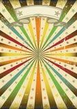 grunge πολύχρωμη αφίσα sunbeans Στοκ Εικόνες