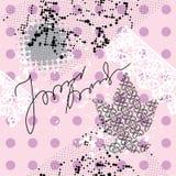 grunge ροζ άνευ ραφής Στοκ Εικόνες