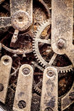 grunge ρολόι μηχανισμών Στοκ φωτογραφία με δικαίωμα ελεύθερης χρήσης