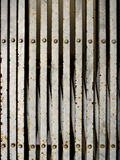 grunge σίδηρος παλαιός Στοκ Φωτογραφία