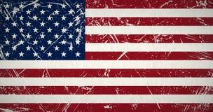 grunge σημαία ΗΠΑ διανυσματική απεικόνιση