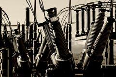 grunge σταθμός παραγωγής ηλεκτρικού ρεύματος αστικός Στοκ φωτογραφία με δικαίωμα ελεύθερης χρήσης