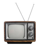 grunge τηλεοπτικός τρύγος Στοκ εικόνες με δικαίωμα ελεύθερης χρήσης