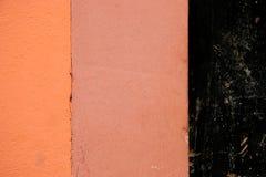 grunge τοίχος αποφλοίωσης χρ&ome Στοκ Εικόνα
