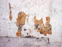 grunge τοίχος αποφλοίωσης χρ&ome Στοκ εικόνες με δικαίωμα ελεύθερης χρήσης