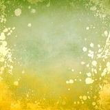 grunge υπόβαθρο με τα splatters Στοκ φωτογραφία με δικαίωμα ελεύθερης χρήσης