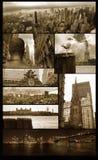 grunge όψεις του Μανχάτταν Στοκ εικόνες με δικαίωμα ελεύθερης χρήσης
