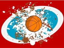 grunge баскетбола Стоковое фото RF