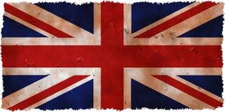 grunge Великобритания Стоковые Изображения