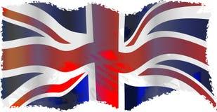 grunge Великобритания Стоковое Изображение RF