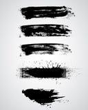 Grunge выравнивает векторы Стоковое фото RF