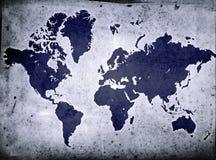 grunge глобуса Стоковая Фотография