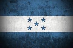 grunge Гондурас флага Стоковые Фотографии RF
