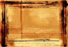 grunge граници фотографическое Стоковые Изображения RF