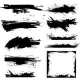grunge границ знамен Стоковые Фотографии RF