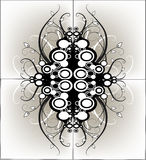 grunge графика конструкции Стоковые Фотографии RF