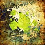 grunge графика предпосылки искусства Стоковое фото RF
