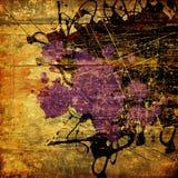 grunge графика предпосылки искусства Стоковые Фото