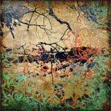 grunge графика предпосылки искусства Стоковая Фотография