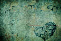 Grunge граффити Стоковые Фото