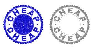 Grunge ДЕШЕВО текстурировал уплотнения печати бесплатная иллюстрация