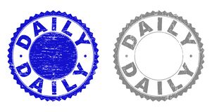 Grunge ЕЖЕДНЕВНО царапал печати бесплатная иллюстрация