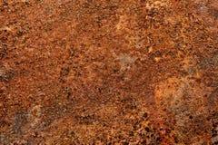 Grunge заржавел предпосылка металлического листа Стоковое фото RF
