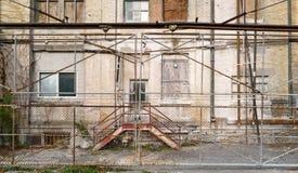 grunge здания внешнее промышленное Стоковые Фото