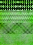 grunge зеленого цвета знамени предпосылок Стоковые Фото